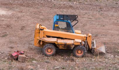 Máquina Excavadora Pequeña