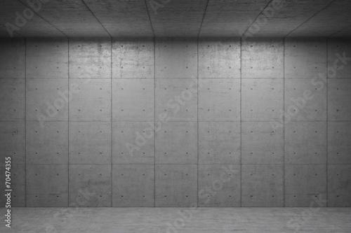 Interior Hintergrund mit Beton