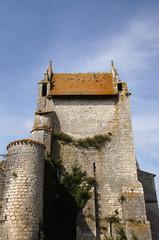 Chateau d'Harcourt à Chauvigny