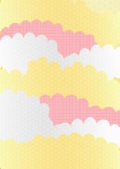 雲 和柄 正月
