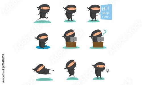 Ninja Mascot Set 2 - 70478553