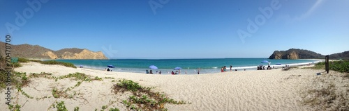 canvas print picture Playa-Los Frailes
