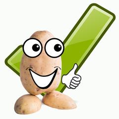 little potato man check true