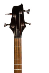 Head of the electric bass guitar