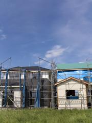 住宅の新築工事