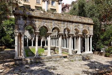 Kreuzgang Sant Andrea am Kolumbus-Haus, Genua