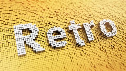 Pixelated Retro