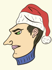 Festive head