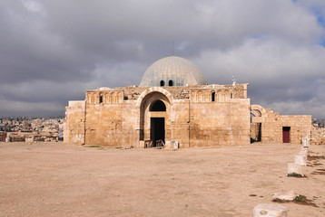 Umayyad Mosque in Amman, Jordan