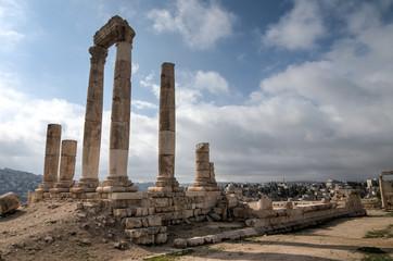 Temple of Hercules - Amman, Jordan