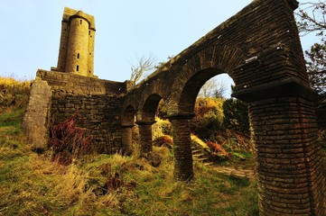 Arched walls and Tower
