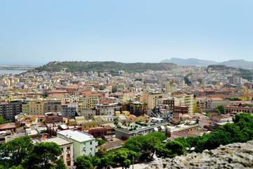 view of Cagliari, Sardinia