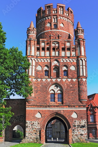 canvas print picture Uenglinger Tor