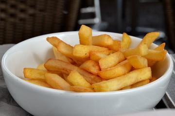 Petit plat de frites