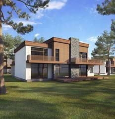 The dream house.