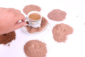 Sıcak ve Toz Kahve