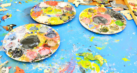 Used Painter's Pallette