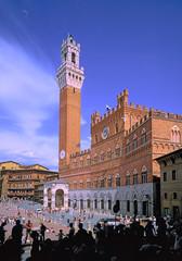 Palazzo Pubblico, Piazza del campo,Sienne, Toscane,