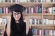 Asian graduate celebrate graduation 1