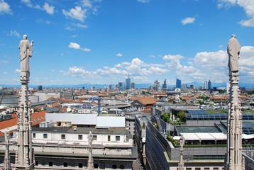 View of Milan