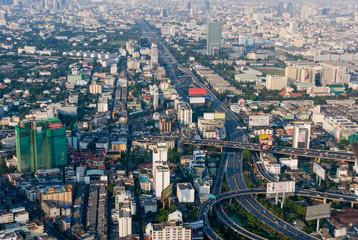 Views of Bangkok Baiyoke Sky