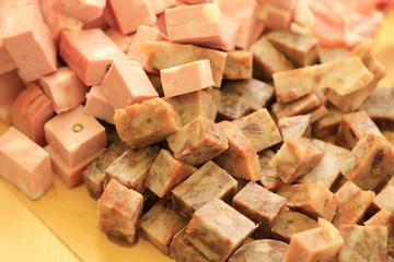 antipasti buffet di carne