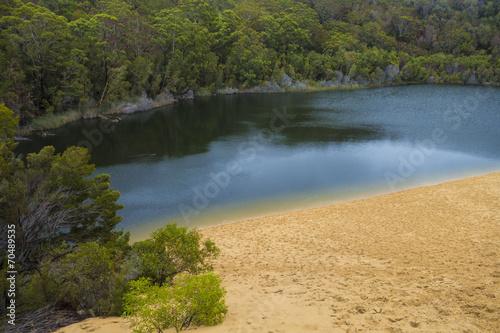 Leinwanddruck Bild Fraser Island Adventure