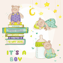 Baby Bear Set - for Baby Shower or Baby Arrival Cards