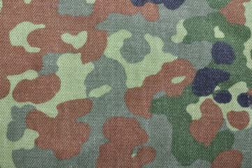 Bundeswehr Kleidung als Hintergrund