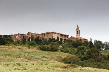 Cityscape of Pienza, Tuscany, Italy