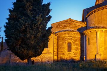 Abbey of Saint Antimo, Tuscany