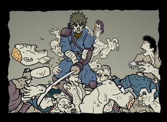 Scene zombie