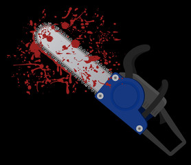 Chainsaw blood