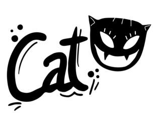 Cat emblem
