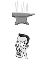 Fall anvil