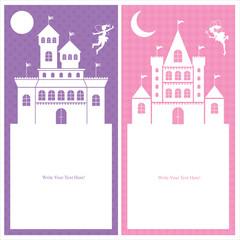 fairy and kingdom card