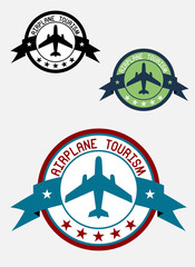 Airplane tour logo