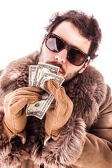 Kissing dollars