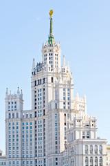 Stalin skyscraper. Seven Sisters