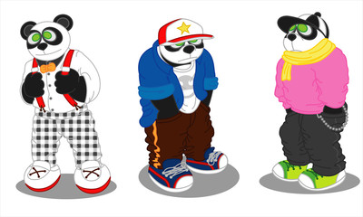 Panda lifestyle fashion 3