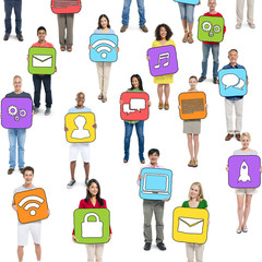 Group of People and Social Networking Concepts