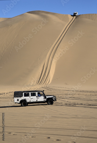 canvas print picture Desert in Namibia, Africa