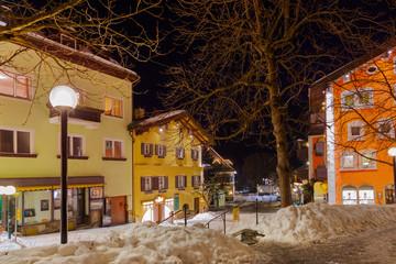 Mountains ski resort Bad Hofgastein Austria