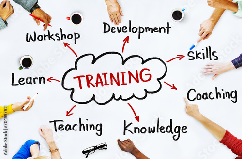 Diverse People and Training Concepts - 70499792