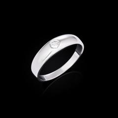 Wedding Ring with diamond