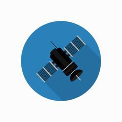 satellite icon illustration