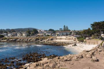 The coast of Point Loma, Monterey