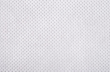 White nonwoven fabric texture