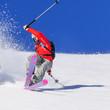 Sturz beim Skifahren