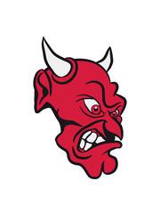 Teufel böse wut cool gefährlich